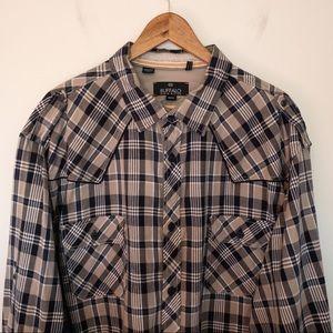 Buffalo David Bitton Men Size 3XL Shirt Flannel